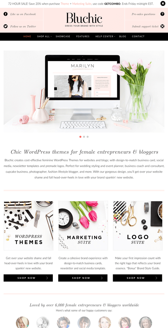 Bluchic WordPress Themes Review & Discount Coupons
