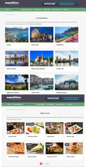 Directory Page Templates-Expedition-travel-wordpress-theme