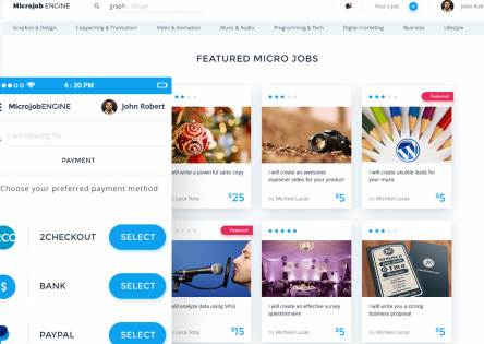 MicrojobEngine Review by Engine Themes