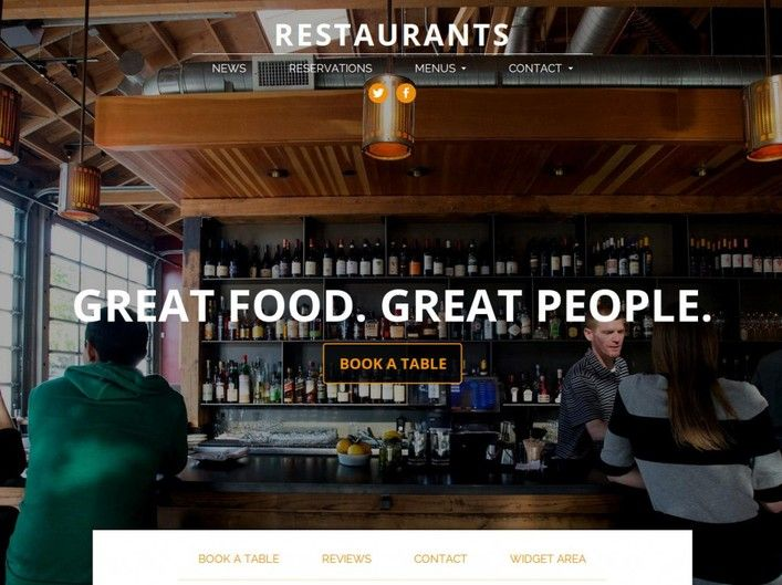 The Spot  Demo Theme of the Crop Review   Restaurant WordPress Theme