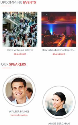 Featured Events Speaker E-event