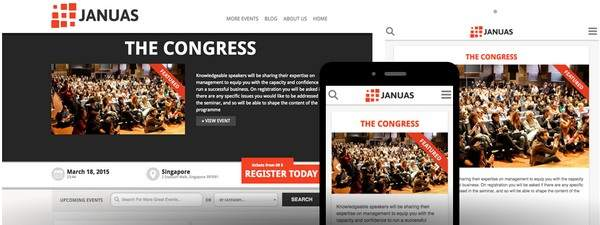 Januas Review - ShowThemes Multiple Event WordPress Theme