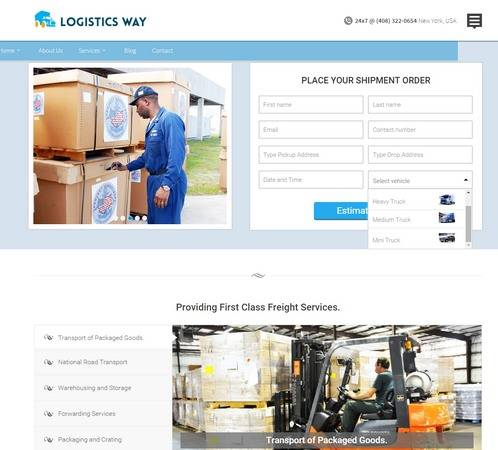 Logistics Way Review - InkThemes | MUST READ