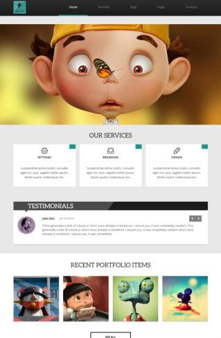 Electra Theme Review - TeslaThemes WordPress Business Portfolio theme