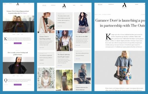 Post List View Styles - Aesthetic ThemeFuse