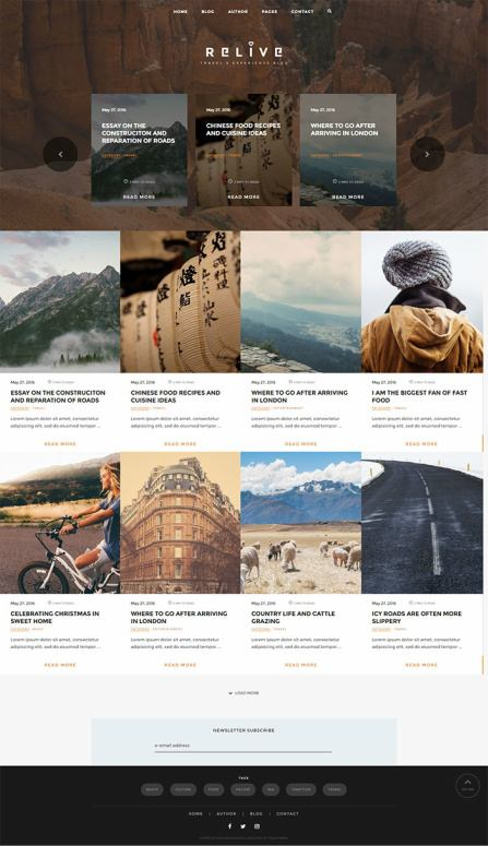 Relive TeslaThemes Review - WordPress Blog Theme