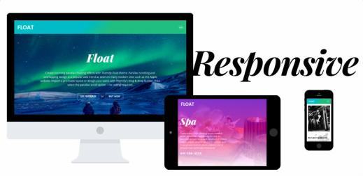 Float Responsive business theme