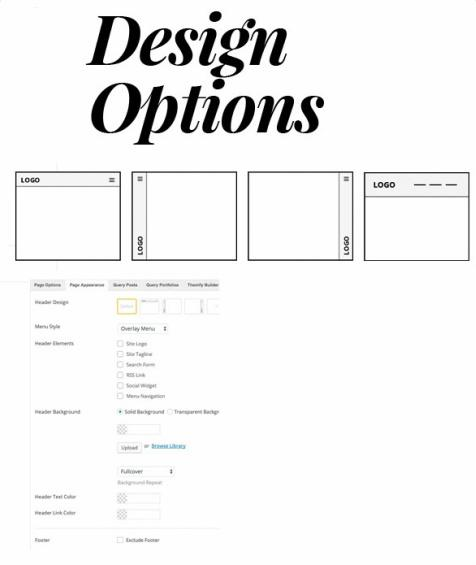 Header Design Options - Float