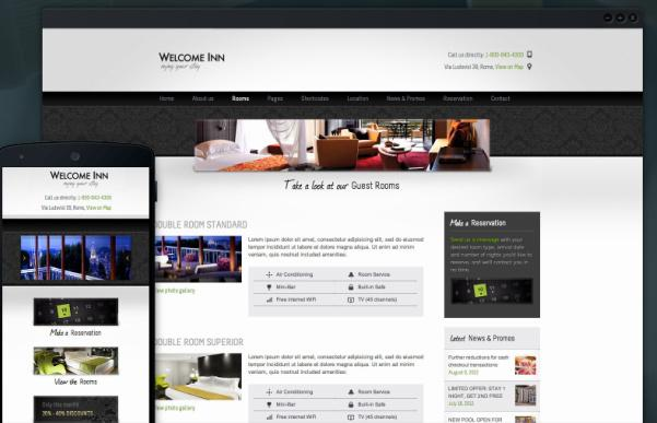 Welcome Inn Review - Hotel WordPress theme by ThemeFuse