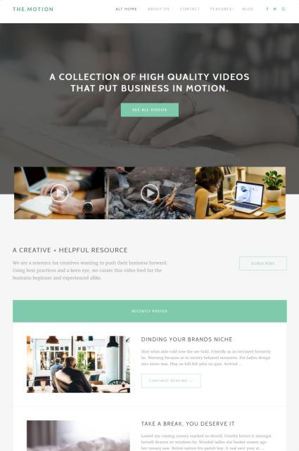 Home Page B TheMotion
