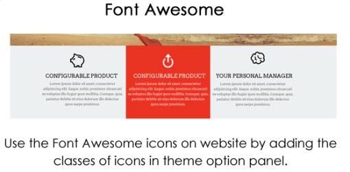 Feature Area with 3 columns - StartPoint Business Theme