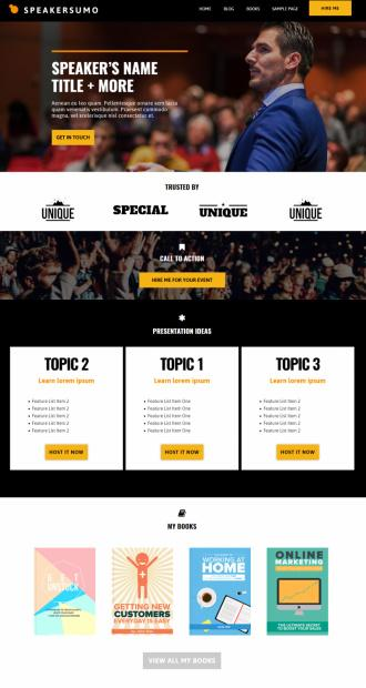 Speakersumo Demo - Showthemes Event Conference Theme for WordPress