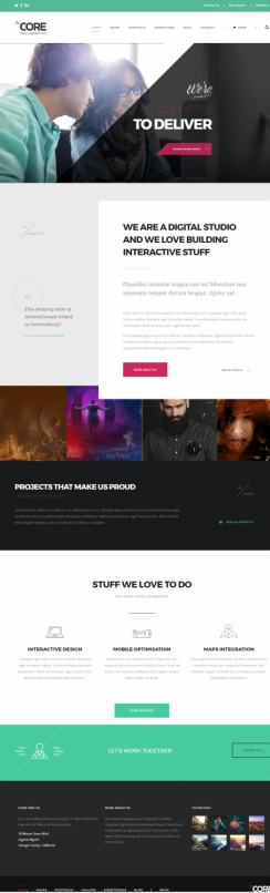 Creative Core ThemeFuse - SEO or Digital Marketing Agency theme