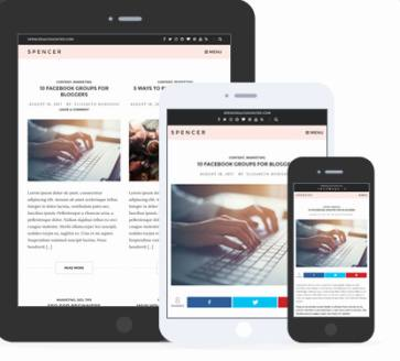 Responsive Theme - Spencer