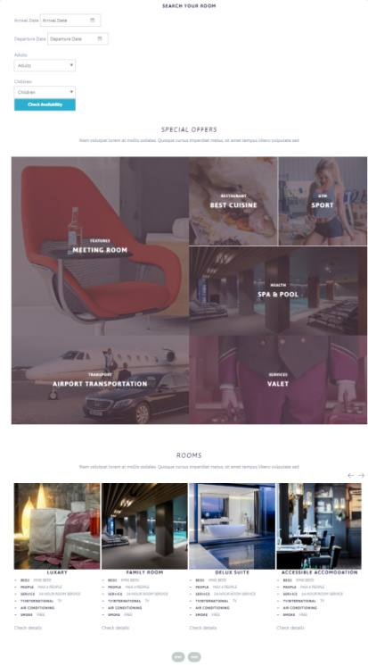Homepage - Riverside WordPress Theme