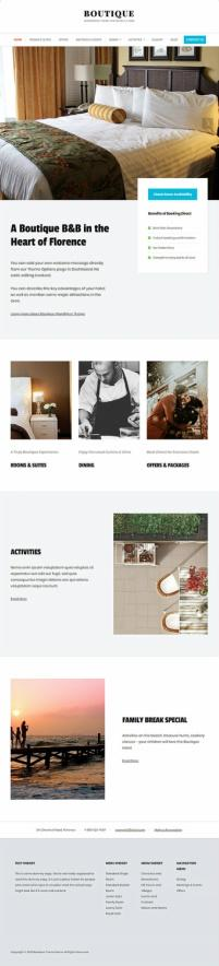 Boutique WordPress Theme - HermesThemes for Hotels
