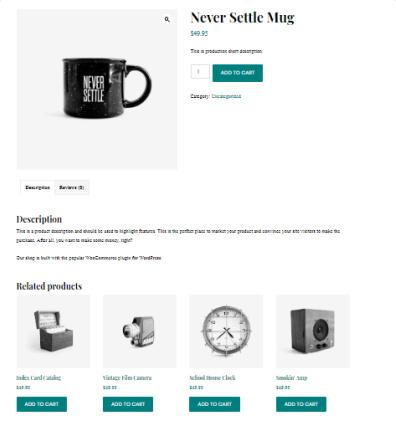 Revolution Pro Shop by WooCommerce